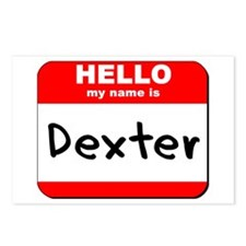 Hello my name is Dexter Postcards (Package of 8)