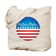 Patriotic McCain / Palin Tote Bag