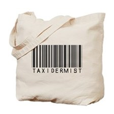 Taxidermist Barcode Tote Bag