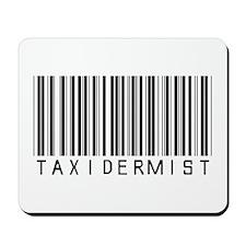 Taxidermist Barcode Mousepad