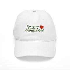 Everyone loves a German Girl Baseball Cap
