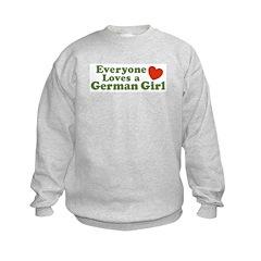 Everyone loves a German Girl Sweatshirt