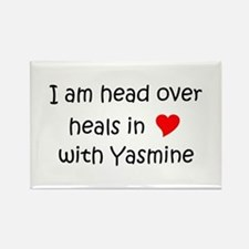Cute Yasmine Rectangle Magnet