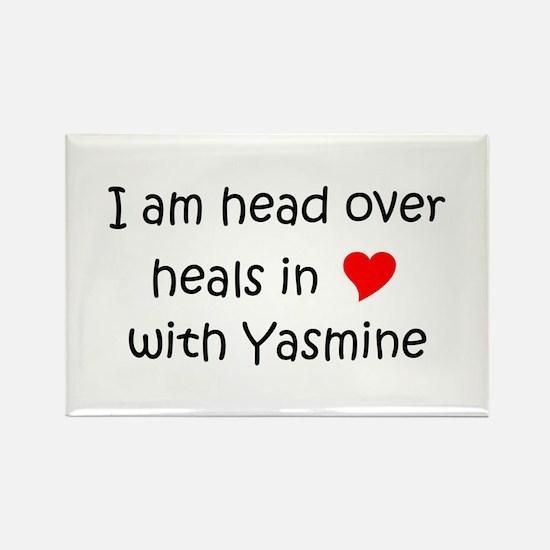 Cute Yasmine Rectangle Magnet