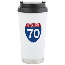 Interstate 70 Travel Mug