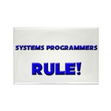 Systems Programmers Rule! Rectangle Magnet