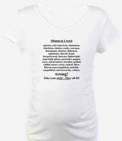 """Obama in 1 Word"" Shirt"