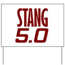 Mustang Yard Sign