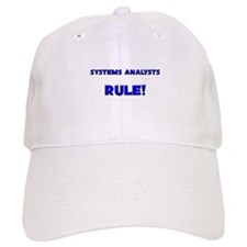 Systems Analysts Rule! Baseball Cap