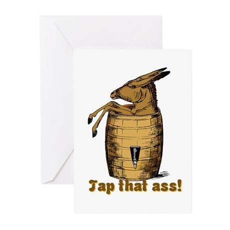 Tap That Ass Greeting Cards (Pk of 20)