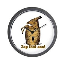 Tap That Ass Wall Clock
