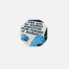 Paper-Pushers of Boredom Mini Button