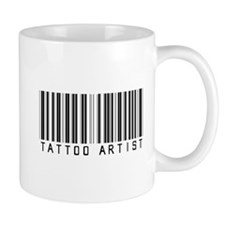 Tattoo Artist Barcode Mug