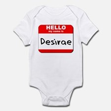 Hello my name is Desirae Onesie