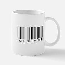 Talk Show Host Barcode Mug