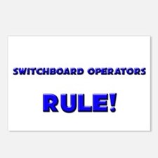 Switchboard Operators Rule! Postcards (Package of