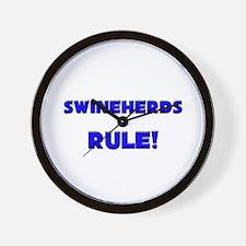 Swineherds Rule! Wall Clock