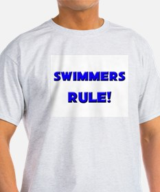 Swimmers Rule! T-Shirt