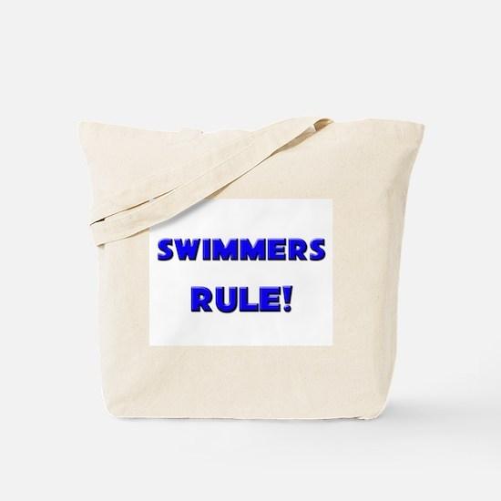 Swimmers Rule! Tote Bag