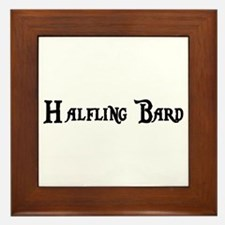 Halfling Bard Framed Tile