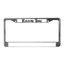 Halfling Bard License Plate Frame
