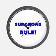 Surgeons Rule! Wall Clock