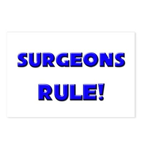 Surgeons Rule! Postcards (Package of 8)