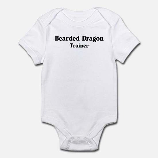 Bearded Dragon trainer Infant Bodysuit