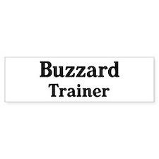 Buzzard trainer Bumper Car Sticker