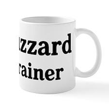 Buzzard trainer Small Mug