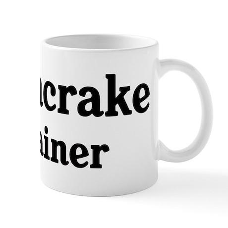Corncrake trainer Mug