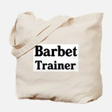 Barbet trainer Tote Bag