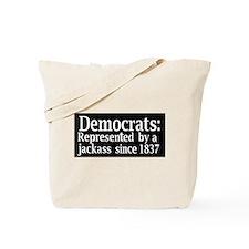 Cute Anti democrat Tote Bag