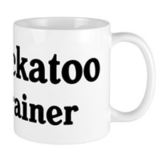 Cockatoo trainer Small Mug
