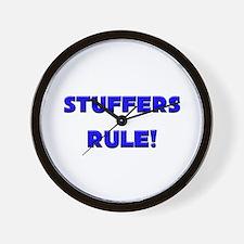 Stuffers Rule! Wall Clock