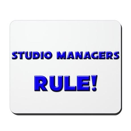 Studio Managers Rule! Mousepad