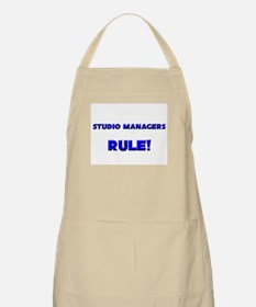 Studio Managers Rule! BBQ Apron