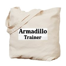 Armadillo trainer Tote Bag