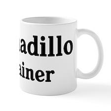 Armadillo trainer Small Mug
