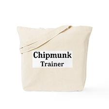 Chipmunk trainer Tote Bag