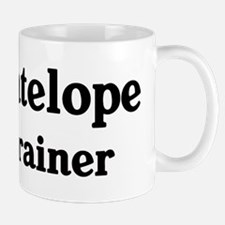 Antelope trainer Mug