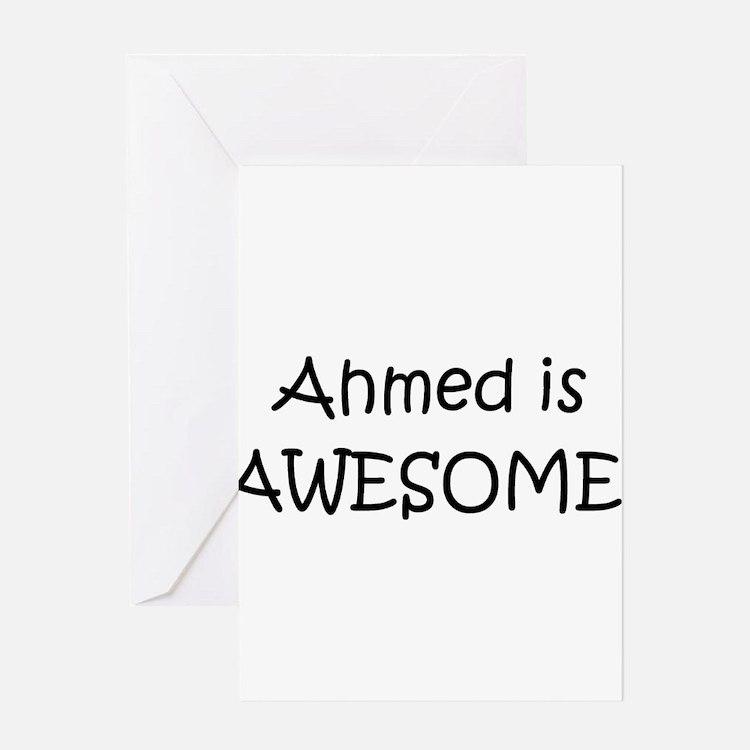 Cute Ahmed Greeting Card