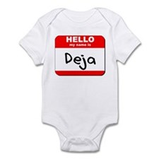 Hello my name is Deja Infant Bodysuit
