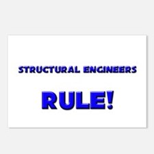 Structural Engineers Rule! Postcards (Package of 8