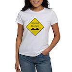 Speed Bumps Sign Women's T-Shirt