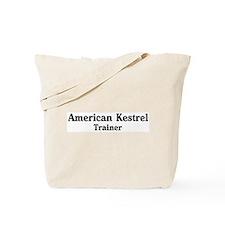 American Kestrel trainer Tote Bag