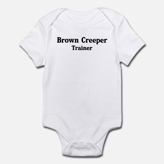 Brown Creeper trainer Infant Bodysuit