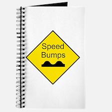 Speed Bump Sign - Journal