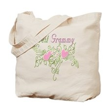 Best Grammy Hearts Tote Bag