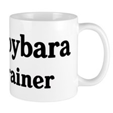 Capybara trainer Small Mug